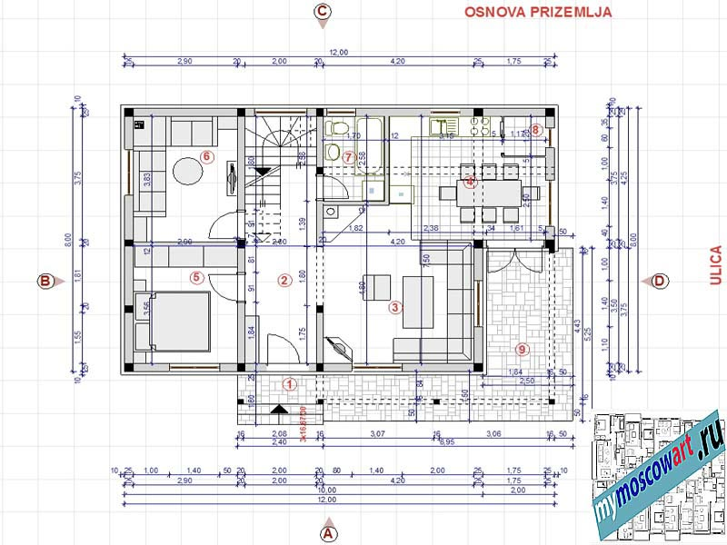 Проект дома - Мирослав (Город Парачин - Сербия) (6)