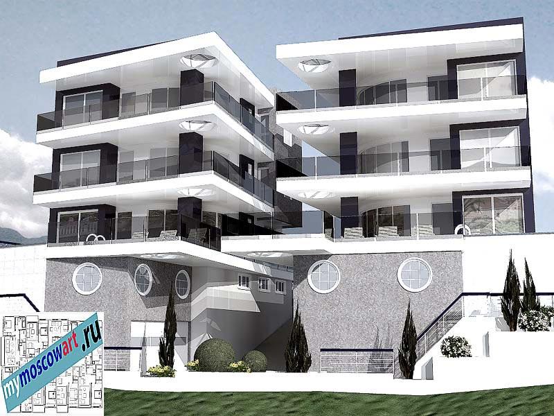 Проект виллы - Предраг (Город Будва - Черногория) (3)
