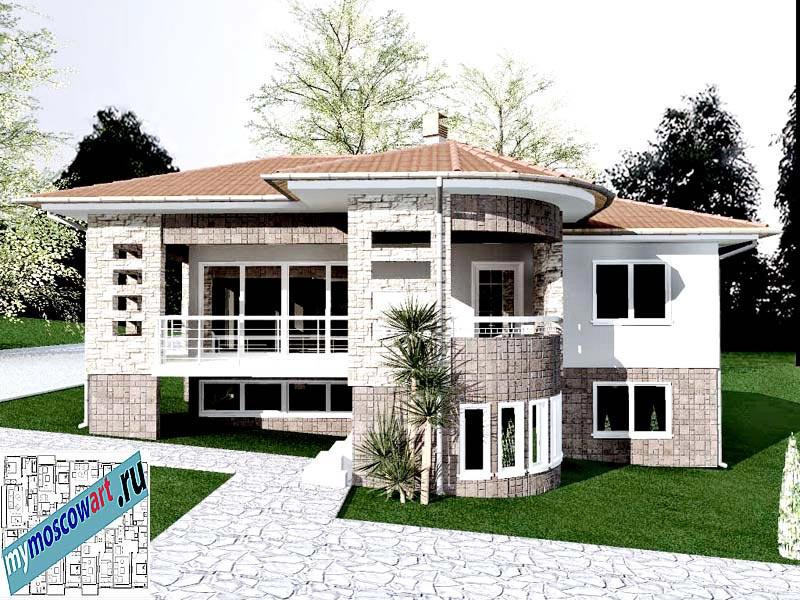 Проект дома - Драган (Деревня Балайнац - Сербия) (6)