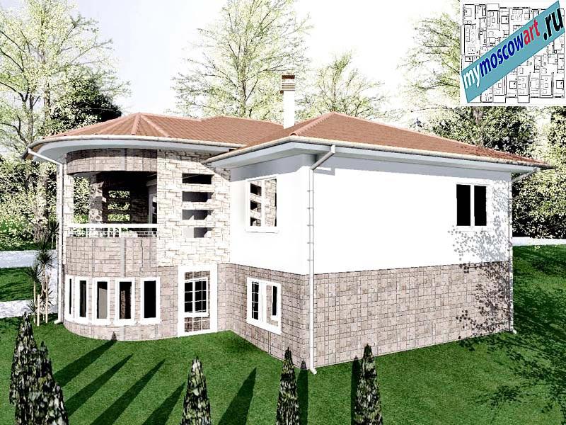 Проект дома - Драган (Деревня Балайнац - Сербия) (8)