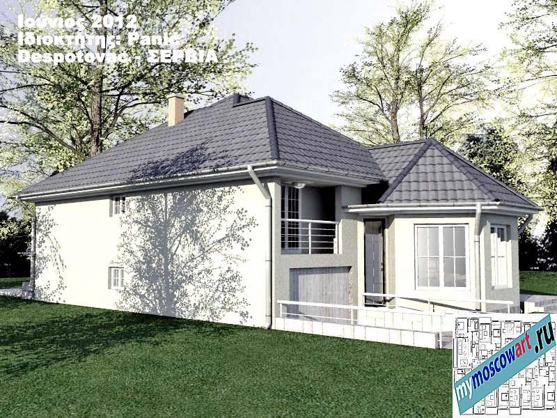 Проект дома - Панич (Деревня Деспотовац - Сербия) (10)