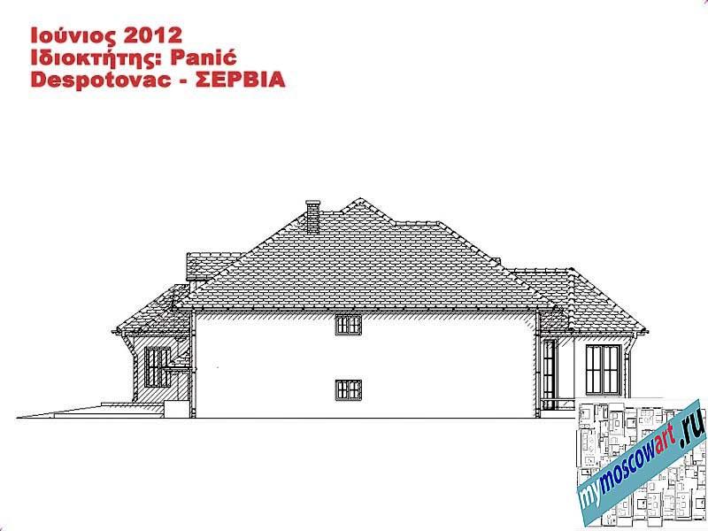 Проект дома - Панич (Деревня Деспотовац - Сербия) (14)