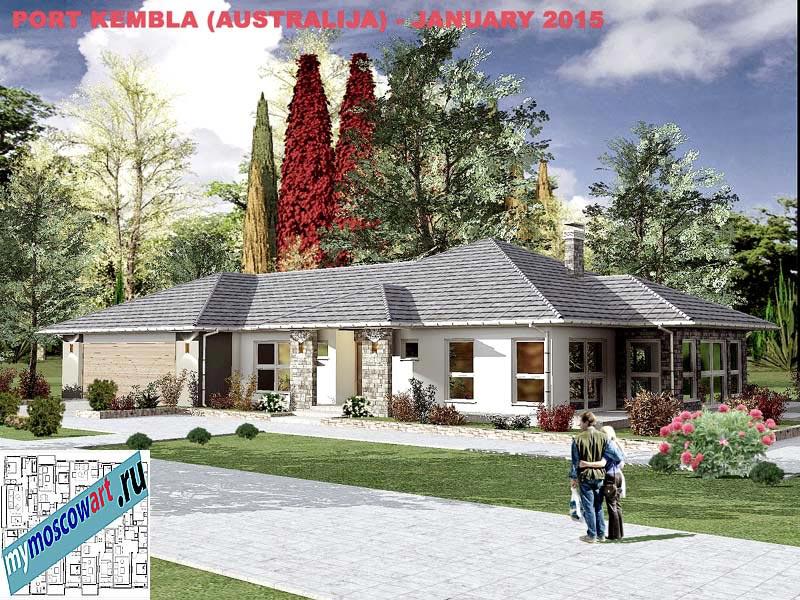 Проект дома - Джеймс (Город Порт Кэмпбелл - Австралия) (3)