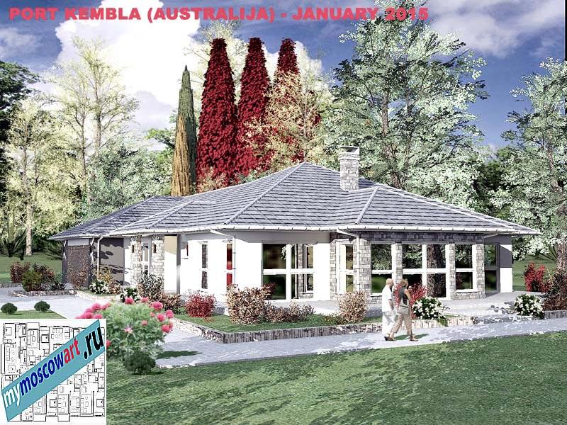 Проект дома - Джеймс (Город Порт Кэмпбелл - Австралия) (4)