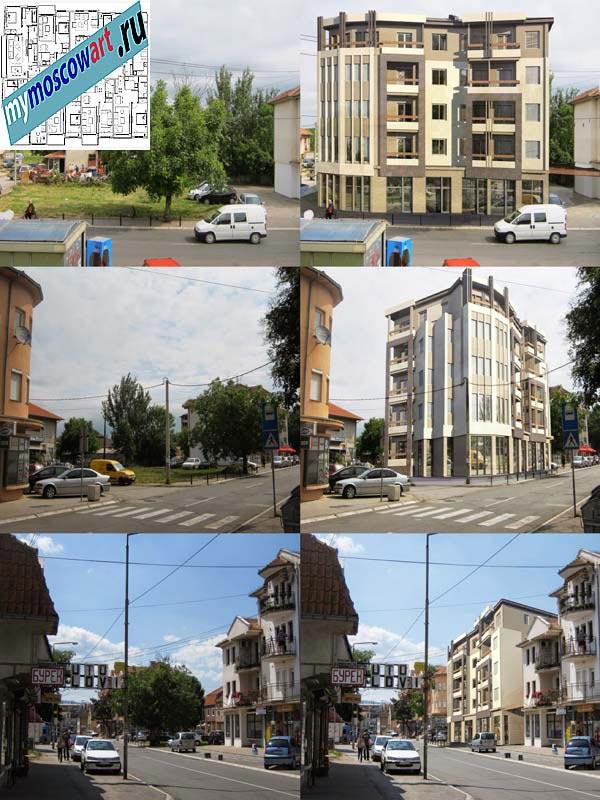 Проект здания - Йован (Город Парачин - Сербия) (1)