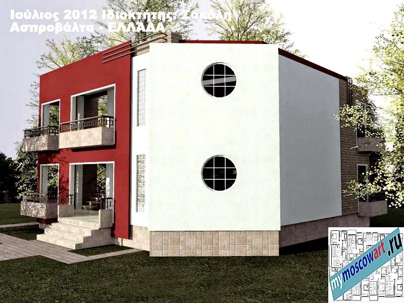 Проект дома - Сокол (Город Аспровальта - Греция) (4)