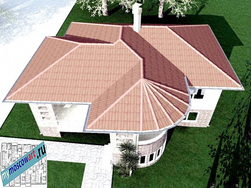 Проект дома - Драган (Деревня Балайнац - Сербия) (11)