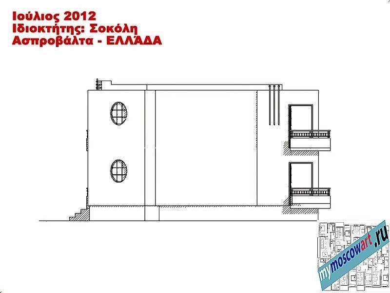 Проект дома - Сокол (Город Аспровальта - Греция) (12)