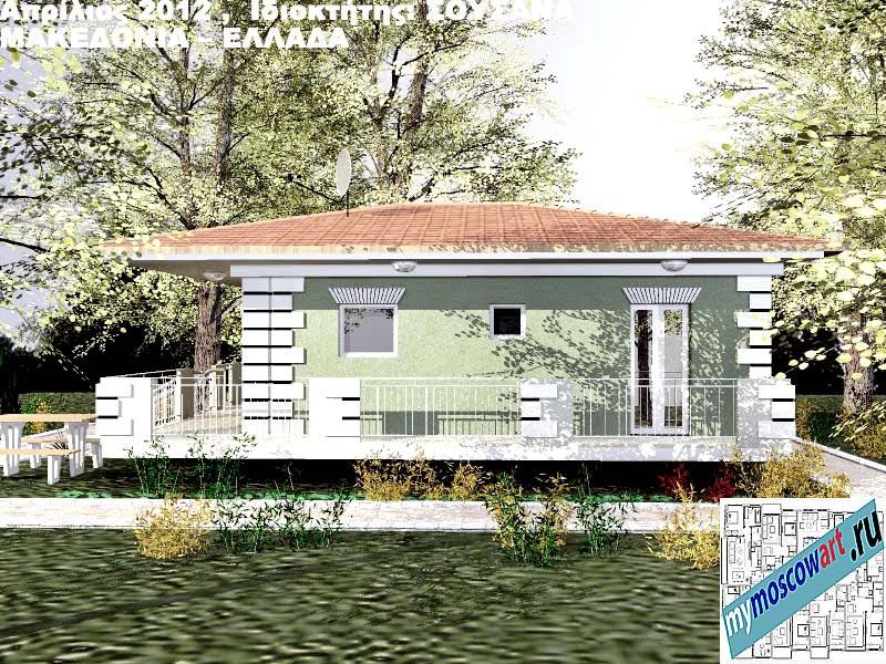 Проект дома - Сузана (Город Аспровальта - Греция) (1)