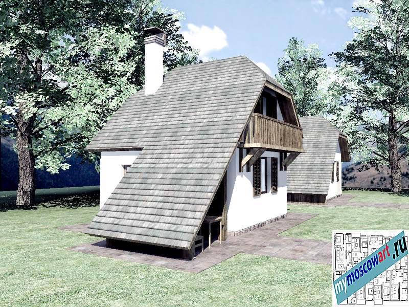 Проект дома - Радомир (Баня Ждрело - Сербия) (1)