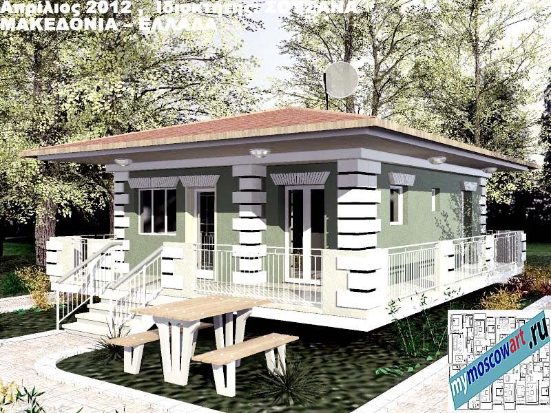 Проект дома - Сузана (Город Аспровальта - Греция) (4)