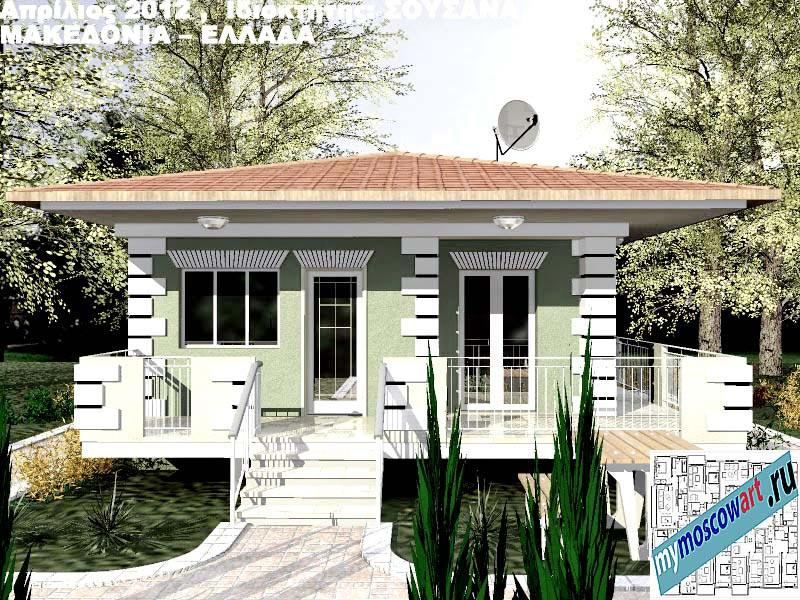 Проект дома - Сузана (Город Аспровальта - Греция) (5)