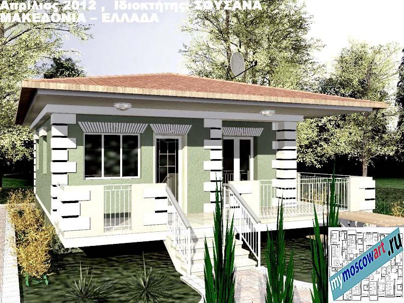 Проект дома - Сузана (Город Аспровальта - Греция) (6)