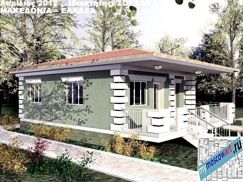 Проект дома - Сузана (Город Аспровальта - Греция) (7)