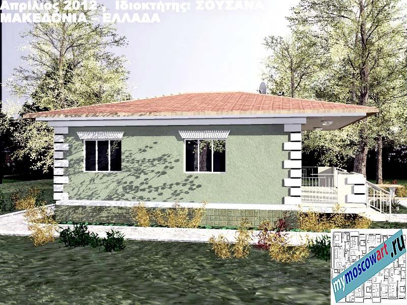 Проект дома - Сузана (Город Аспровальта - Греция) (8)