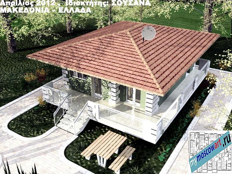Проект дома - Сузана (Город Аспровальта - Греция) (10)