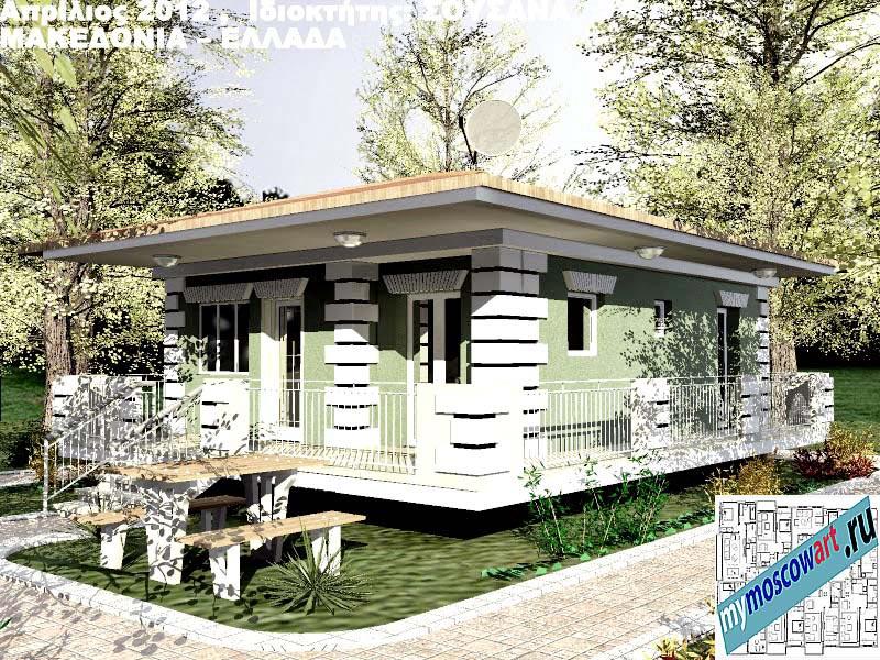 Проект дома - Сузана (Город Аспровальта - Греция) (11)