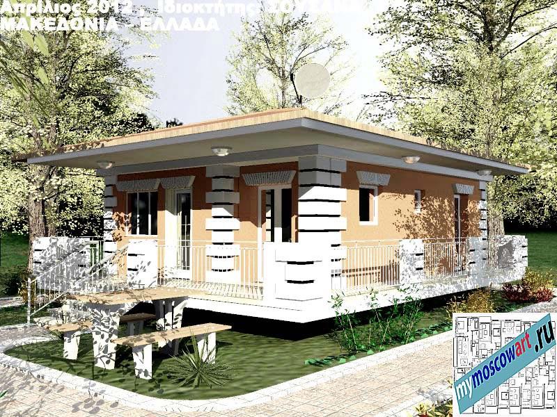 Проект дома - Сузана (Город Аспровальта - Греция) (12)
