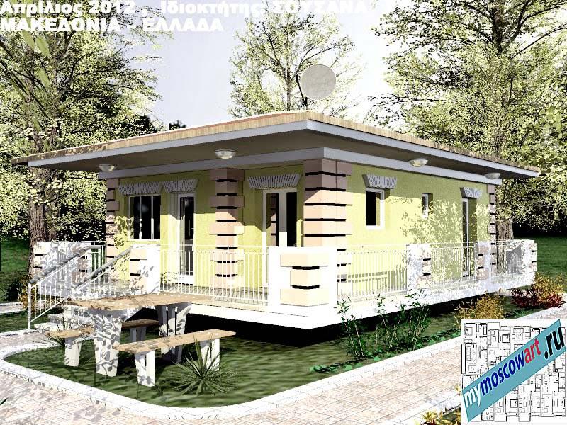 Проект дома - Сузана (Город Аспровальта - Греция) (13)