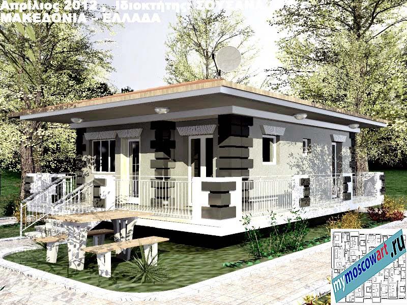 Проект дома - Сузана (Город Аспровальта - Греция) (14)