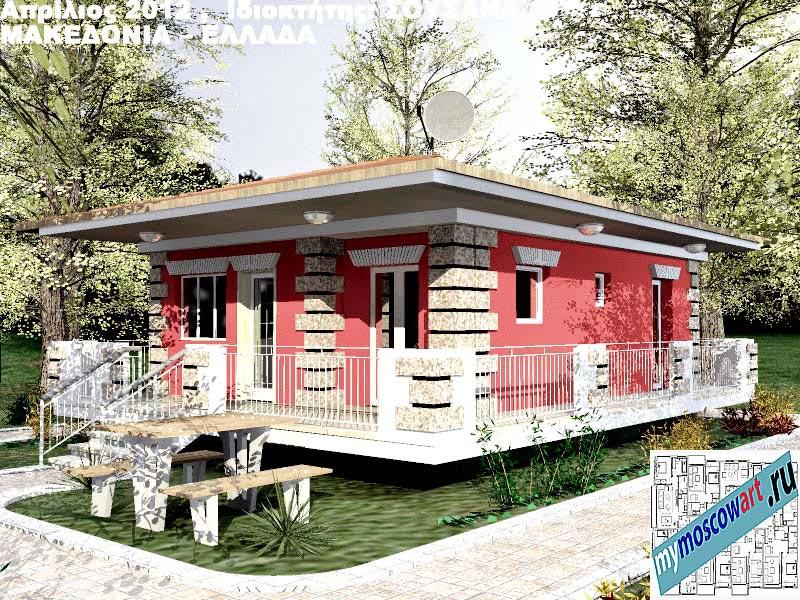 Проект дома - Сузана (Город Аспровальта - Греция) (15)