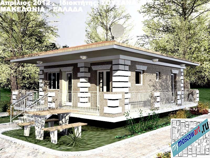 Проект дома - Сузана (Город Аспровальта - Греция) (16)