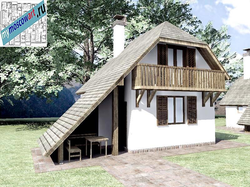 Проект дома - Радомир (Баня Ждрело - Сербия) (2)