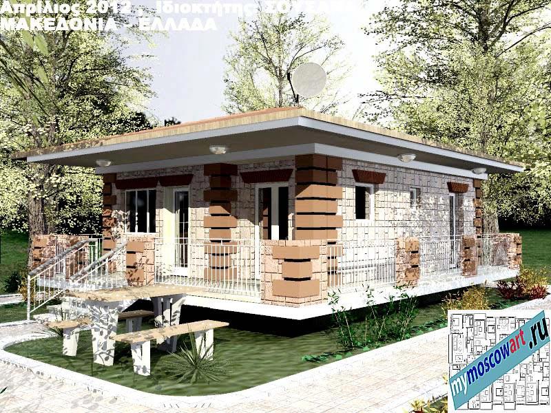 Проект дома - Сузана (Город Аспровальта - Греция) (17)