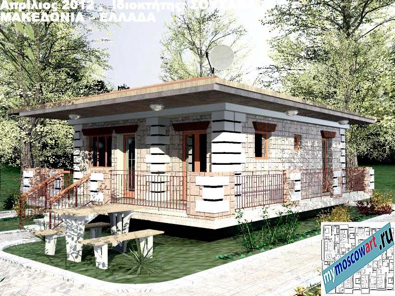 Проект дома - Сузана (Город Аспровальта - Греция) (18)