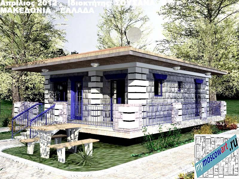 Проект дома - Сузана (Город Аспровальта - Греция) (19)