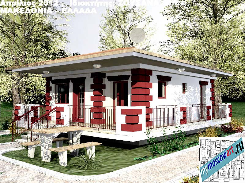 Проект дома - Сузана (Город Аспровальта - Греция) (20)