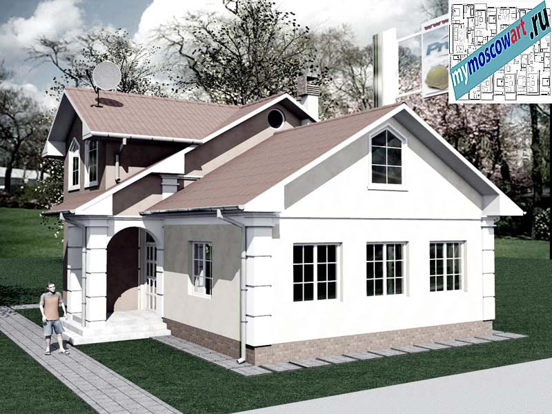 Проект дома - Града (Город Свилайнац - Сербия) (4)