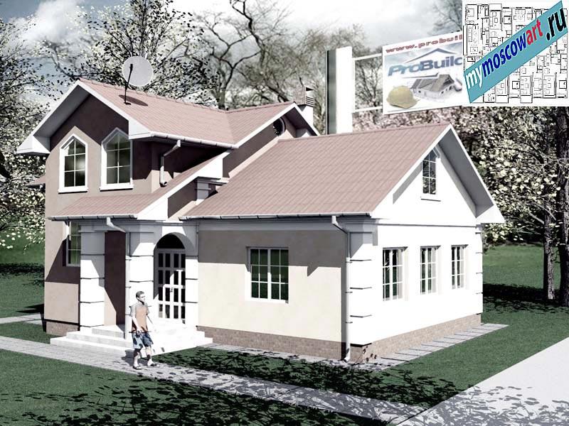 Проект дома - Града (Город Свилайнац - Сербия) (5)