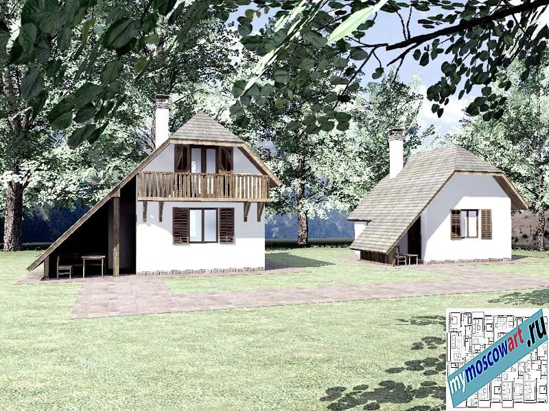 Проект дома - Радомир (Баня Ждрело - Сербия) (3)