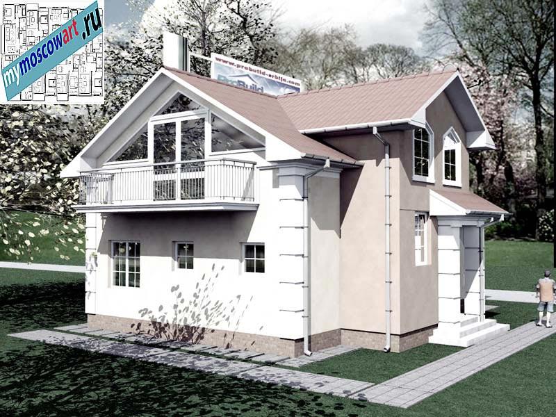 Проект дома - Града (Город Свилайнац - Сербия) (10)