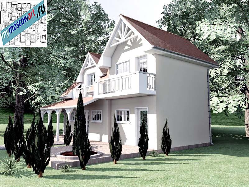 Проект дома - Снежана (Город Свилайнац - Сербия) (1)