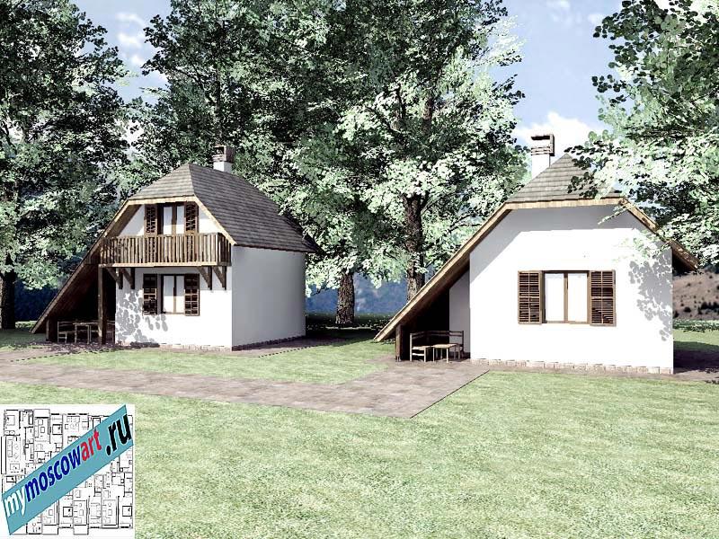 Проект дома - Радомир (Баня Ждрело - Сербия) (4)