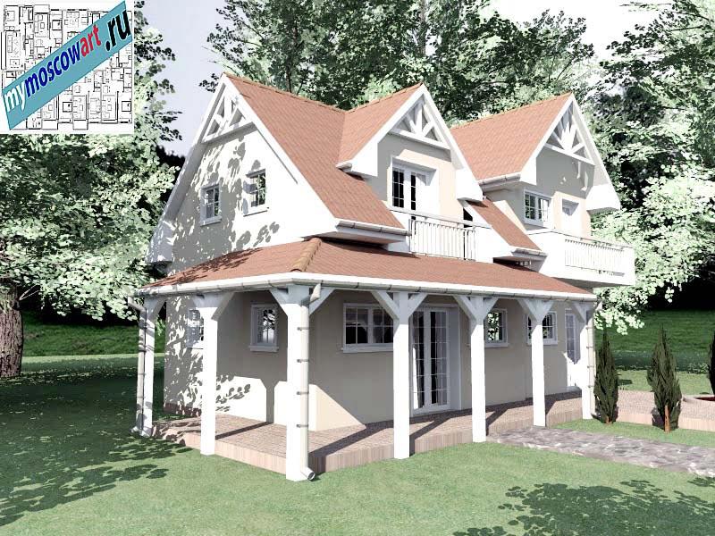 Проект дома - Снежана (Город Свилайнац - Сербия) (2)