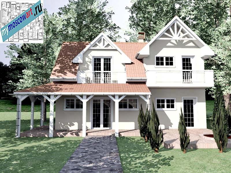 Проект дома - Снежана (Город Свилайнац - Сербия) (3)