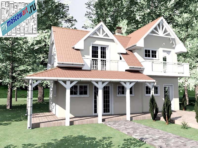 Проект дома - Снежана (Город Свилайнац - Сербия) (5)