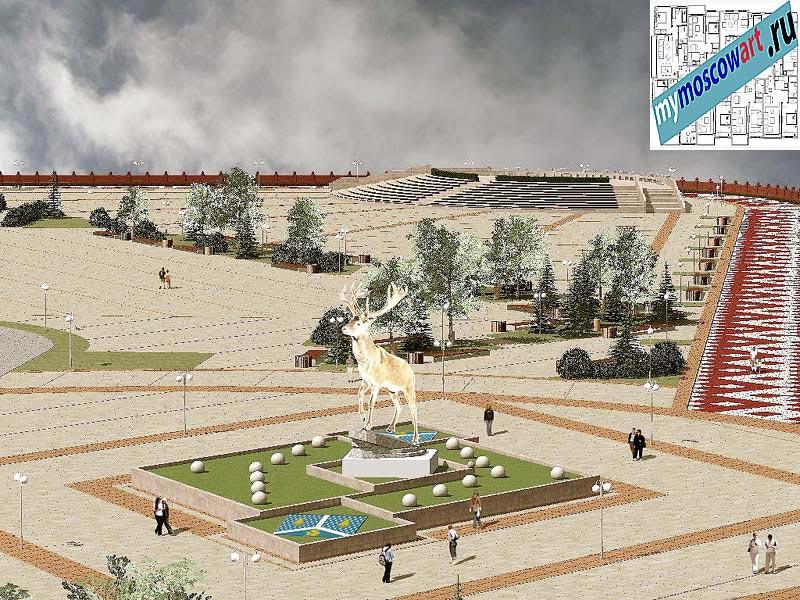 Проект амфитеатра - Азат (Город Тарко-Сале - Россия) (1)