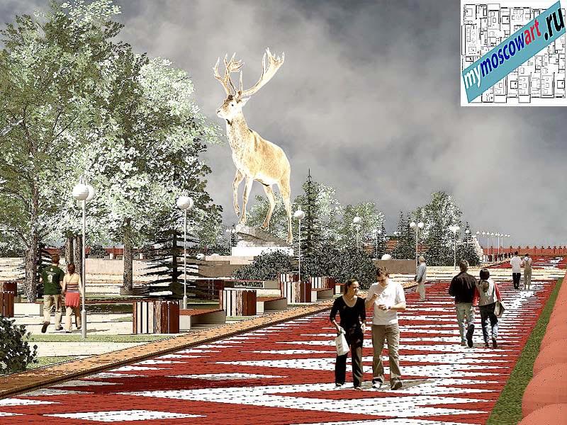 Проект амфитеатра - Азат (Город Тарко-Сале - Россия) (2)