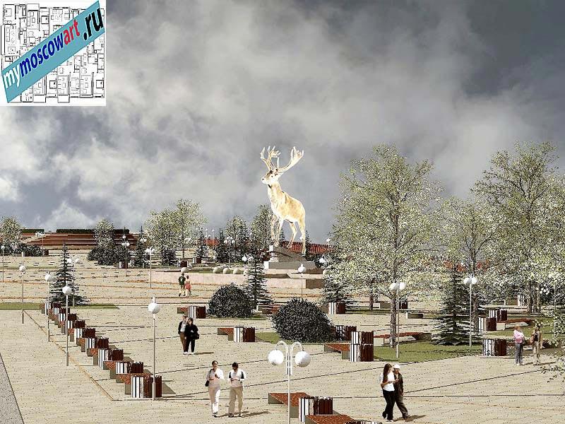 Проект амфитеатра - Азат (Город Тарко-Сале - Россия) (3)
