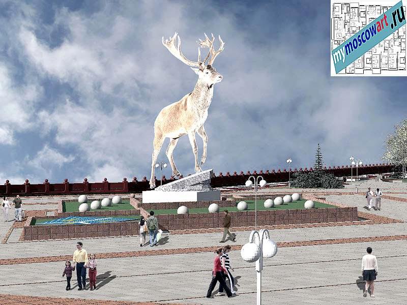 Проект амфитеатра - Азат (Город Тарко-Сале - Россия) (5)