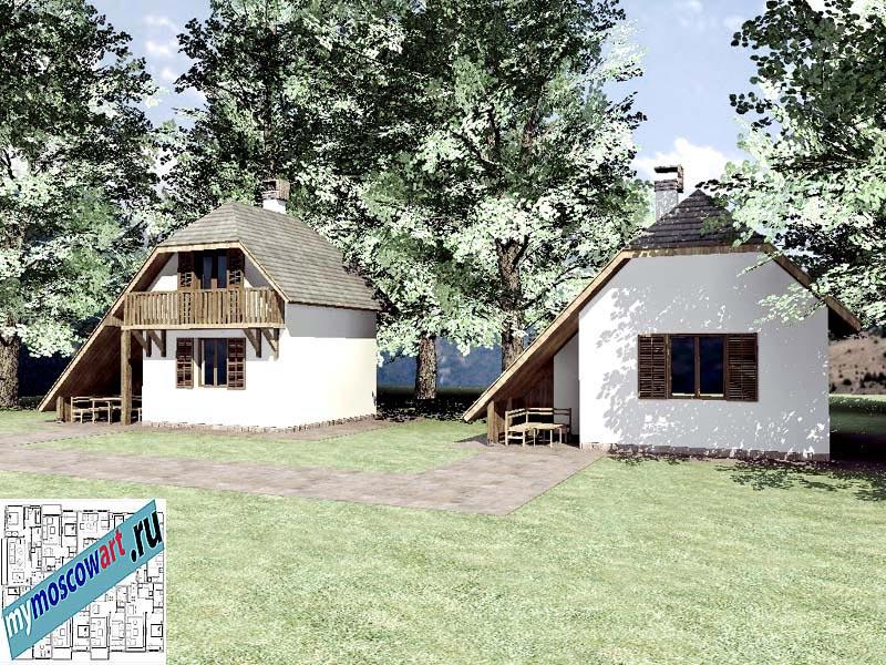 Проект дома - Радомир (Баня Ждрело - Сербия) (5)