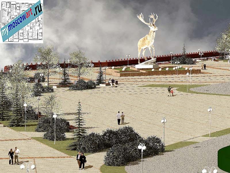 Проект амфитеатра - Азат (Город Тарко-Сале - Россия) (7)
