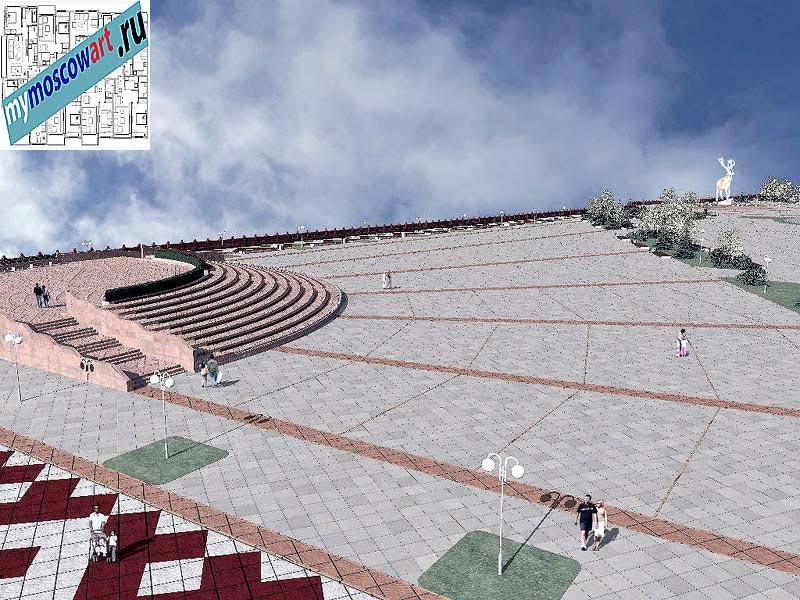 Проект амфитеатра - Азат (Город Тарко-Сале - Россия) (8)