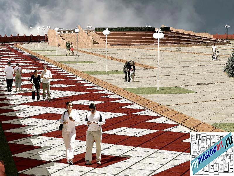 Проект амфитеатра - Азат (Город Тарко-Сале - Россия) (9)