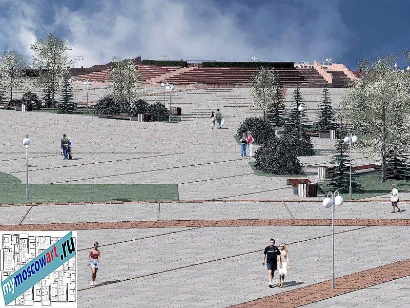 Проект амфитеатра - Азат (Город Тарко-Сале - Россия) (10)
