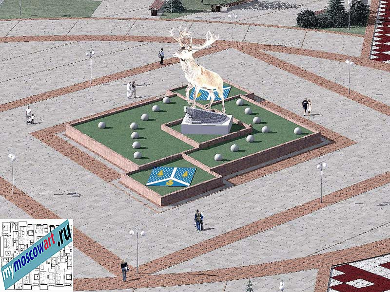 Проект амфитеатра - Азат (Город Тарко-Сале - Россия) (11)